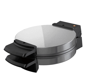 Black & Decker Chrome Belgian Waffle Maker