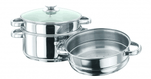 Vinod Cookware 3 Tier Steamer