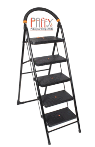 PAffy Folding Ladder with Wide Steps