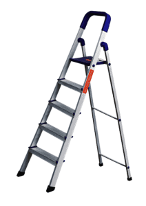 Cipla Plast Heavy Duty Folding Aluminium Ladder