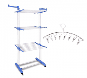 Kawachi Power Dryer Easy Mild Steel Cloth Drying Stand