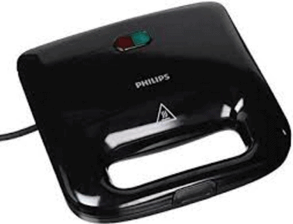 Philips HD 2393 820-Watt Sandwich Maker Black