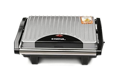 Nova NSG 2449 1000-Watt Panini Sandwich Grill Maker