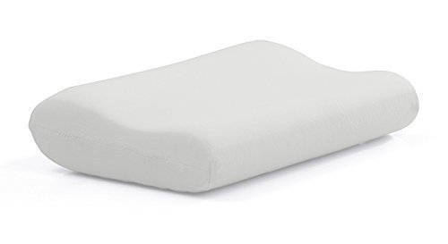 The White Willow King Contour Cervical Orthopedic Memory Foam Pillow