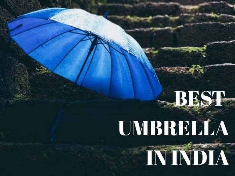 Best Umbrella brand in India for monsoon